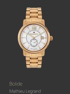 Swiss-Made: Luxury Watch Mathieu Legrand