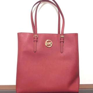 MK Authentic Red Bag