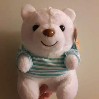 🚚 白熊北極熊泰迪熊teddy含吊牌玩偶娃娃