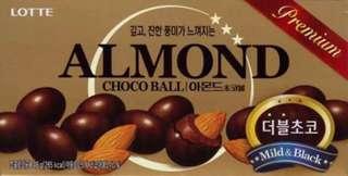 ALMOND LOTTE CHOCOBALLS