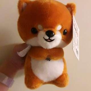 柴犬秋田犬紅柴狗狗玩具玩偶娃娃含吊牌