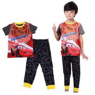 Lightning McQueen Pajamas
