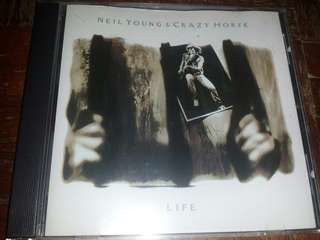 Music CD: Neil Young & Crazy Horse–Life