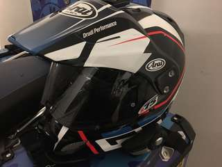 Arai Cross Tour 3 with Sena 20s