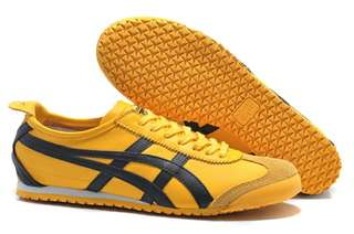 Authentic Onitsuka Tiger (Mexico 66) Yellow/ Black