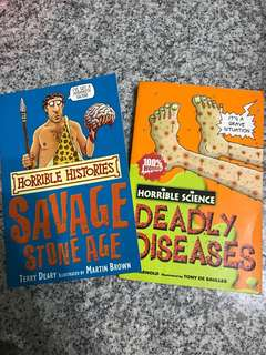 Horrible Histories/Science