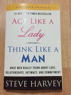 Steve Harvey (Act like a lady, Think like a man)