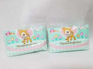 Hummingmint Two Kid Tissue Pouches