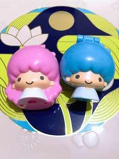 。包平郵。Little Twin Stars。情侶牙刷套。