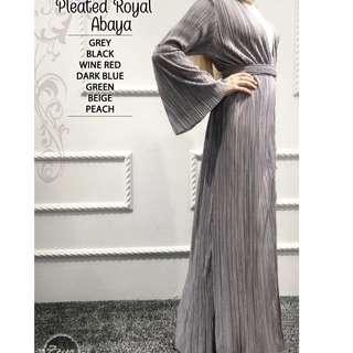 Pleated Royal Abaya