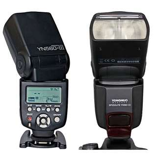 flash speedlite YONGNUO yn 560-III NEW best seller