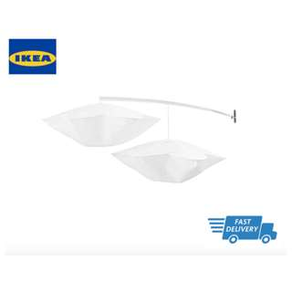 IKEA HIMMELSK Bed canopy, white FAST DELIVERY