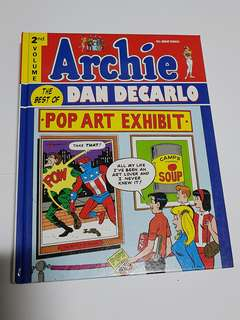 ARCHIE BEST OF DAN DECARLO VOL 2 HARDCOVER EDITION