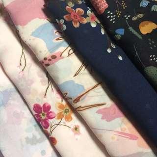 Poly cotton motif