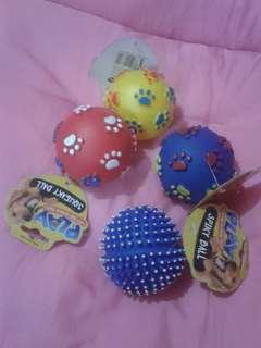 Dog Toys - Squeaky Balls 50 each