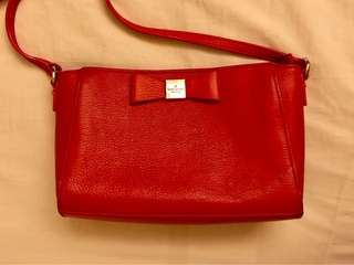 Kate Spade Red Cross-bag / handbag