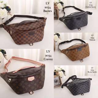 Louis Vuitton LV Fanny Pack Pouch Sling (FREE POSTAGE)