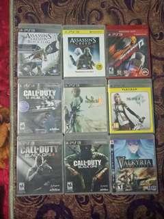 PS3 games untuk dijual