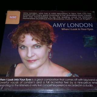 AMY LONDON - WHEN I LOOK IN YOUR EYES CD