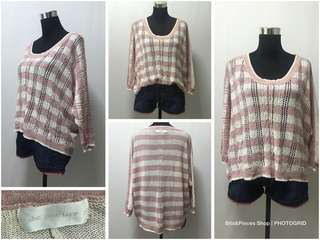 Preloved knitted top (M-L)