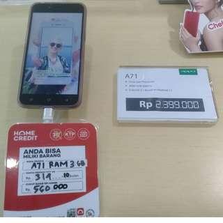 Handphone Oppo A71 RAM 3GB