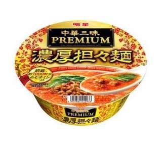 日本 增量裝黑胡麻擔擔麵杯麵