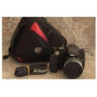 Nikon Coolpix P600 60x Optical Zoom Wifi Ready DSLR-Bridge Camera