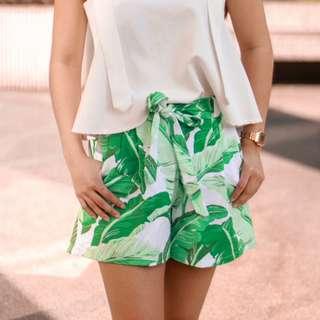 Women's printed shorts