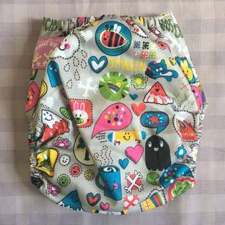 Cloth Diaper with Insert EUC