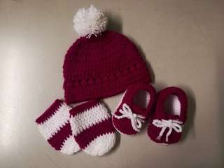 Crochet Baby Girl Gift Set