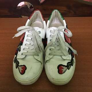 Gucci Floral Sneakers Inspired