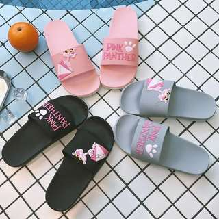 [ PO ] Harajuku Pink Panther Poolside Slippers