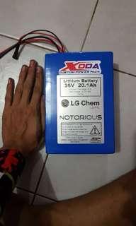 Xoda 36v 20ah battery