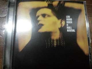Music CD: Lou Reed–Rock N Roll Animal