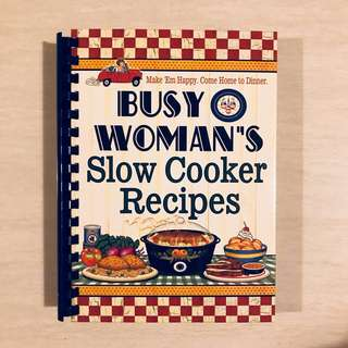Busy Woman's Slow Cooker Recipes