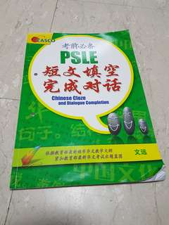 Psle chinese cloze and dialogue completion
