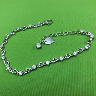 純銀 水晶手鍊