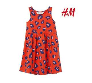 H&M dress for kids 4to10 yrs old