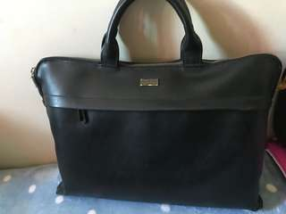 semi leather bag for men