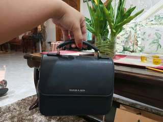 Charles and Keith Square Bag