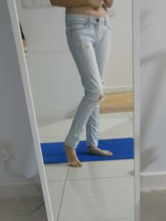 Light color jeans