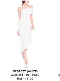 Doublewoot Debaszy white dress L size