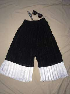 Black & White Culottes