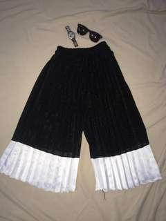 Black & White Culottes