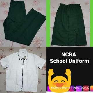 School Uniform Set (NCBA)