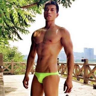 Men Green Swimwear [Brand New with tag]