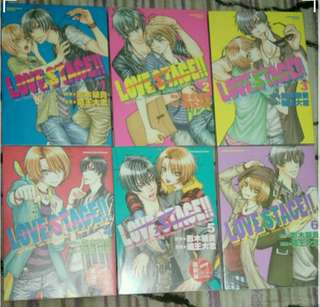 Bl漫畫小說 love stage1-7,BACK STAGE1-3藏王大志