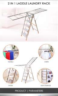 2 in 1 Step Ladder
