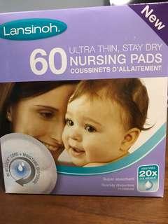 Brand new unopened Lansinoh breast pads