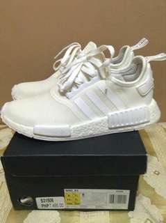 Adidas NMD triple white size 8